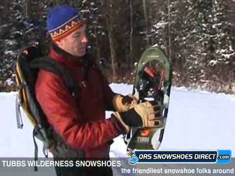 Tubbs Wilderness Snowshoes Review Video & Demonstration by ORS Snowshoes Direct