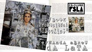 """FERNANDA ABREU - DA LATA (CD/BOOK PROMOCIONAL) """"UNBOXING"""""""