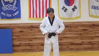 How to Properly Tie a Taekwondo Belt