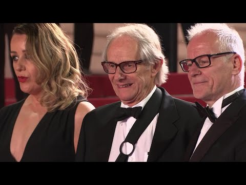 """Two-time Palme D'or winner Ken Loach premieres his latest film """"Sorry We Missed You"""" at the Cannes Film Festival. (May 17)"""