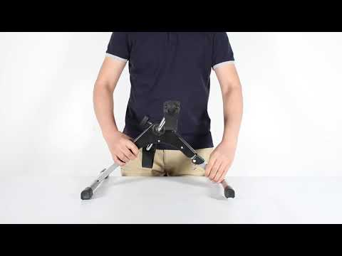 Foldable Exercise Bike Pedal Fitness Exerciser Cycle Bike