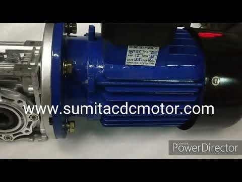 AC Gear Motor Worm Gear Motor