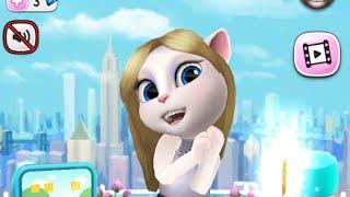 My Talking Angela & Tom Great Makeover My Talking Episode Children HD Game