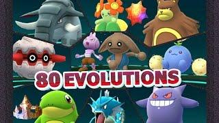 Donphan  - (Pokémon) - Pokémon GO 80 EVOLUTIONS 83,000 XP GEN 2 Politoed Hitmontop Donphan Jumpluff Ursaring & LOTS MORE!
