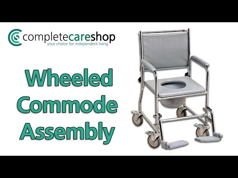 Wheeled Commode Assembly Guide