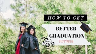 how to get better graduation pictures | photography tips (BEST TIPS)