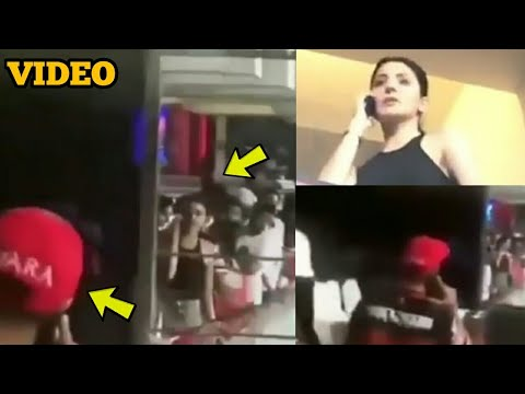 Virat Kohli Calling Anushka Sharma To Come In The Dressing Room During IPL Match Video Goes Viral!
