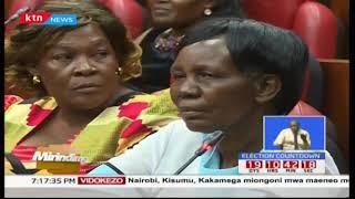 Wafula Chebukati aambiwa na Mama Nanjala akalie kiti chake sawa sawa