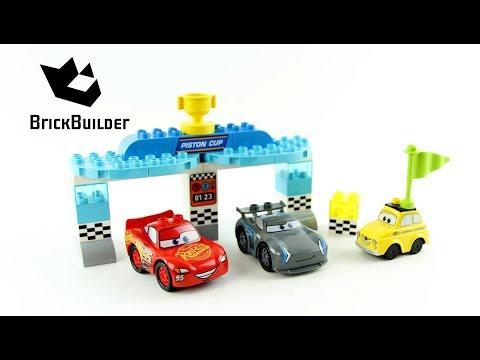 Vidéo LEGO Duplo 10857 : La course de la Piston Cup