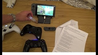 How to Use a Wii U Pro Controller on the Nintendo Switch (LONG Version)