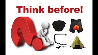 Think Twice Before You Buy Motorcycle Gear!