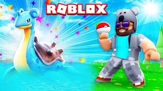 I CAUGHT A LAPRAS!!!! | Pokémon GO | ROBLOX