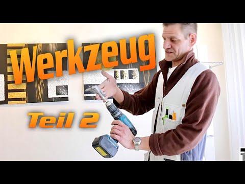 Trockenbau - Werkzeug (Teil 2)  / Drywall tool. / Hobein