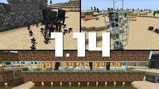 Эксперименты в снапшоте 1.14 - Визер Роза, Бесконечное топливо и Авто-ферма шерсти!
