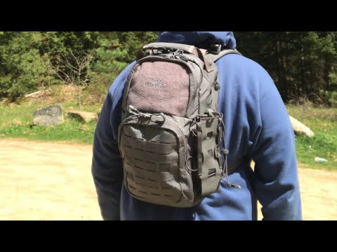 Vanquest Katara 16: Day Hiking & Everyday Carry (EDC) Backpack and Convertible Sling Bag