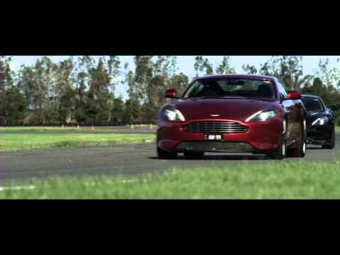 New Aston Martin Vanquish & DB9 On Track