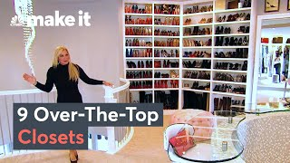 9 Of The Coolest Closets From Dan Bilzerian To Celine Dion