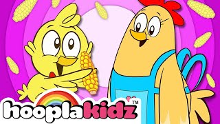 The Chicks Song - Three Cute Little Chicks   +More Nursery Rhymes & Kids Songs - HooplaKidz
