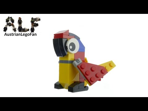 Vidéo LEGO Creator 30472 : Le perroquet (Polybag)