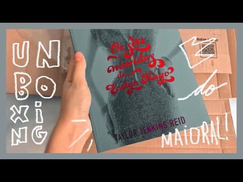 unboxing | os sete maridos de Evelyn Hugo