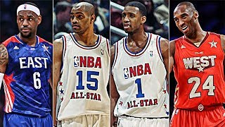 Best Dunk From Each NBA All-Star Game (2000 - 2018 Seasons)