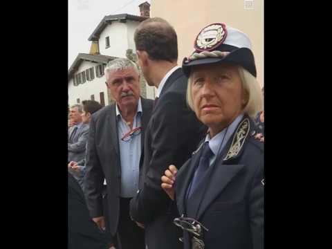 GONFALONE E SINDACO DI DIANO MARINA A PALADINA PER IL FUNERALE DI FELICE GIMONDI