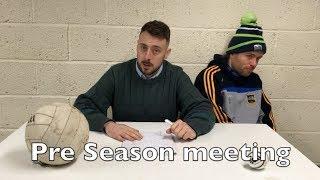 GAA Pre Season Meeting   2 Johnnies (sketch)