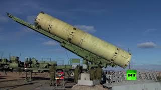 لحظة اختبار سلاح روسي جديد مضاد للصواريخ