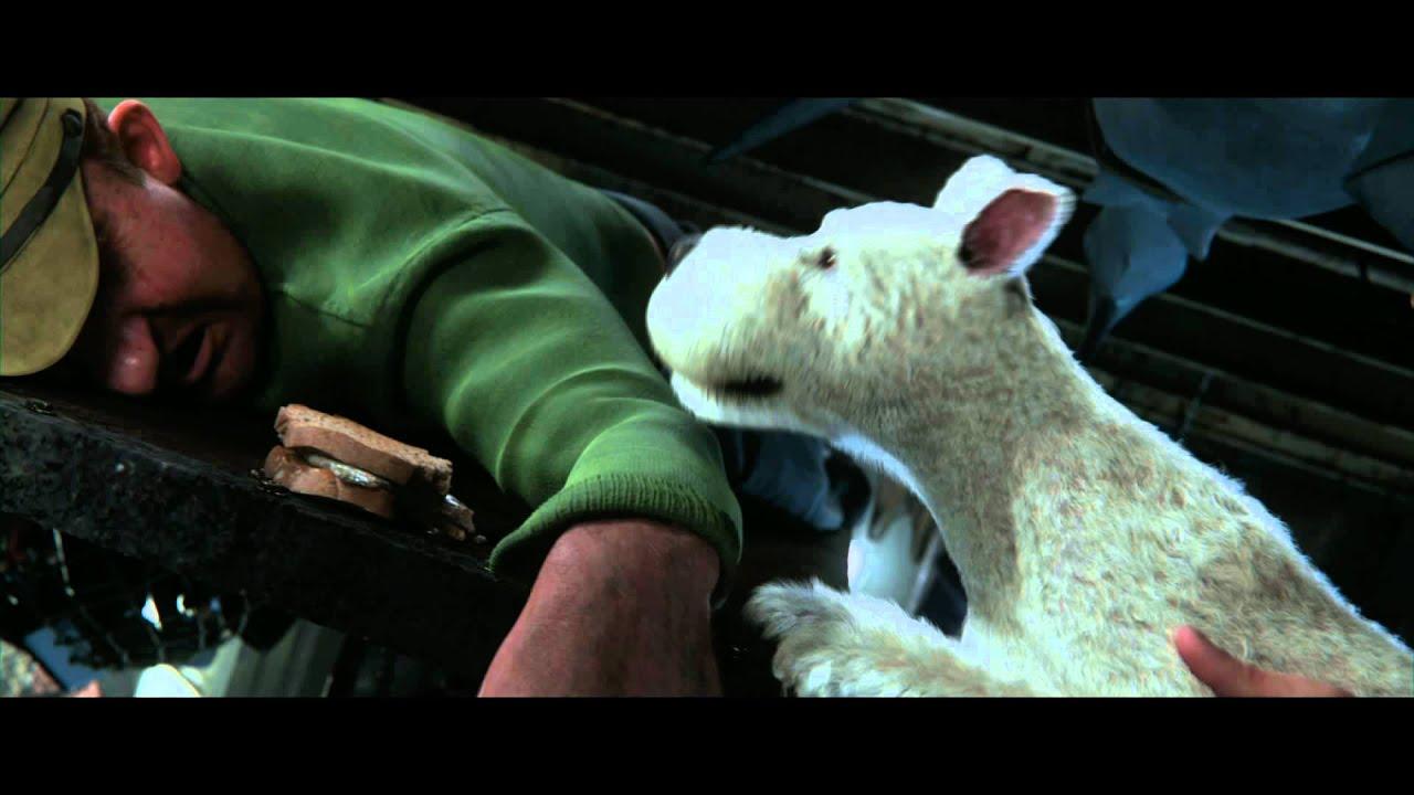 Trailer för Tintins äventyr: Enhörningens hemlighet