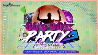 80'S 90'S Party invitation