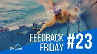 Can using LESS Effort Make You Swim Faster?