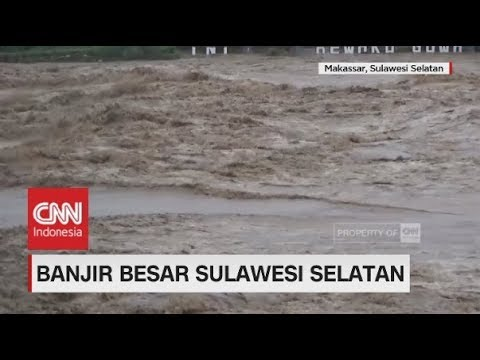 Banjir Bandang Kepung Makassar, 6 Orang Meninggal Dunia