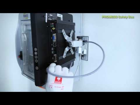 Als Option zu unseren Universellen Fügemodule UFM Line5 bieten wir die Saftey Box PSB. Sie eignet sich als Alternative zur Schaltschrankintegration bei der Fertigung in automatisierten Montagelinien und enthält alle dafür notwendigen Sicherheitsfunktionen und Leistungskomponenten. Bei der Entwicklung wurde Wert auf die schnelle Inbetriebnahme und das kompakte Design gelegt. Die Box lässt sich bequem in der Nähe der Servopresse montieren, so dass Kabellängen reduziert werden und der Verdrahtungsaufwand entfällt. Ihre Servopresse ist somit innerhalb kürzester Zeit betriebsbereit.