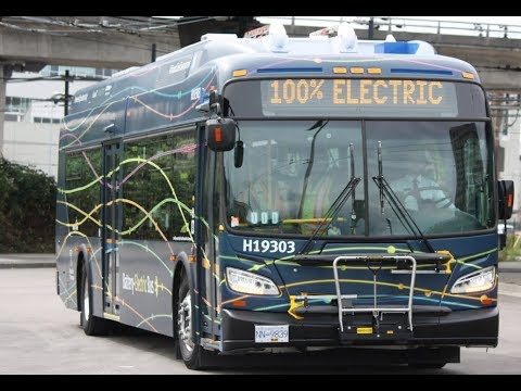"""NEW BUS!! Vancouver Translink 2019 New Flyer XE40 """"Xcelsior CHARGE"""" - H19303"""