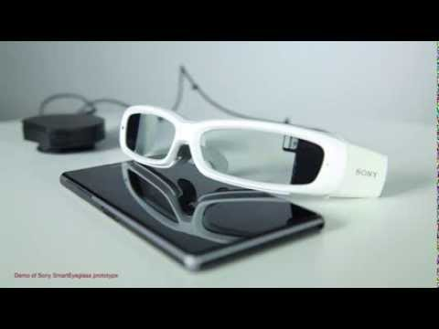 Sony's new SmartEyeglass concept explained [video]