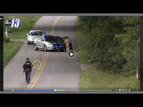 Cop Runs From Naked Guy - PCP Is Always First Thought With Naked Violence