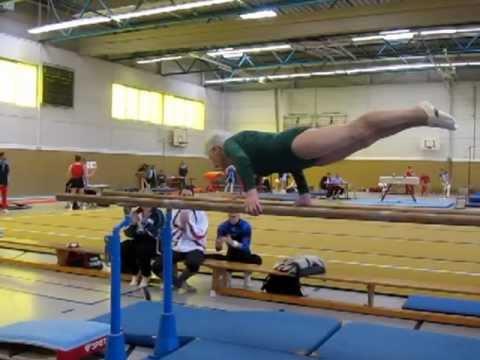 Johanna Quaas - oldest active Gymnast of the World!