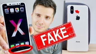 $120 Fake Apple iPhone X With a Home Button?