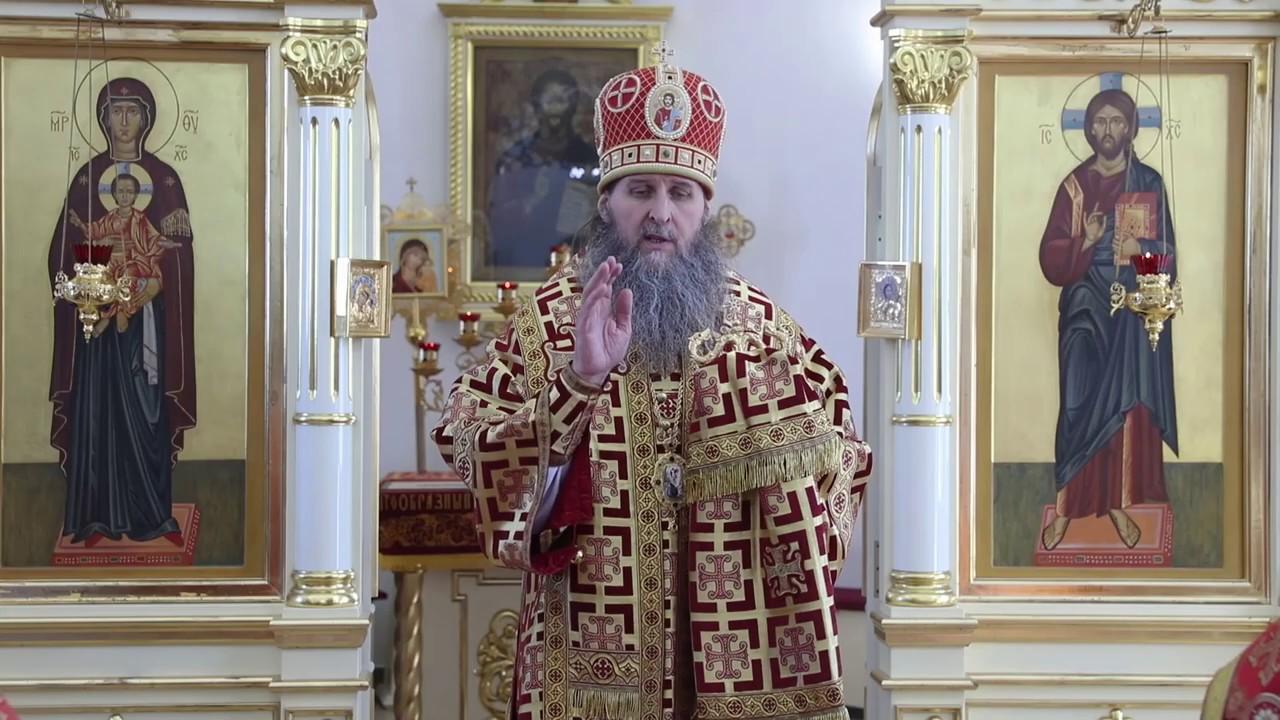 Божественная Литургия в Порт-Артурском храме Кургана. Проповедь митрополита Даниила