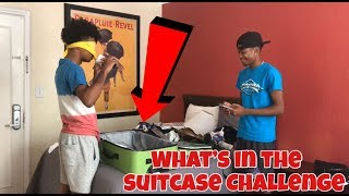 WHAT'S IN THE SUITCASE CHALLENGE!!!