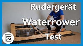 Waterrower Rudergerät im Test - Wie schneidet das Wasserrudergerät ab?