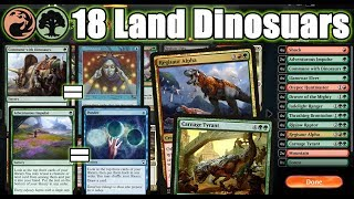 Playing Ponder And Brainstorm In Standard To Power Out Dinosaurs!