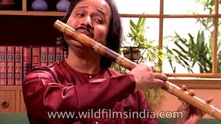 Pandit Ranu Majumder - one of India's best flautists