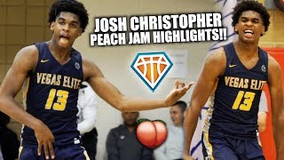 JOSH CHRISTOPHER WENT CRAZY AT PEACH JAM!! | Is He The MOST ENTERTAINING Player in America?!