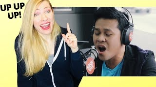 Vocal Coach Reacts: Marcelito Pomoy The Power of Love (Celine Dion) Wish 107.5 Bus