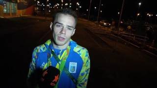 Олег Верняев, интервью после серебра в многоборье. Олимпийские Игры-2016 в Рио