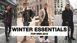 MEN`S WINTER ESSENTIALS 2018