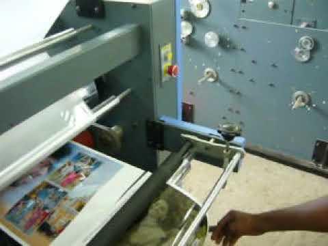 Single Side lamination machine