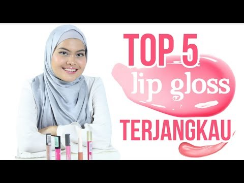Top 5 Lip Gloss Terjangkau!