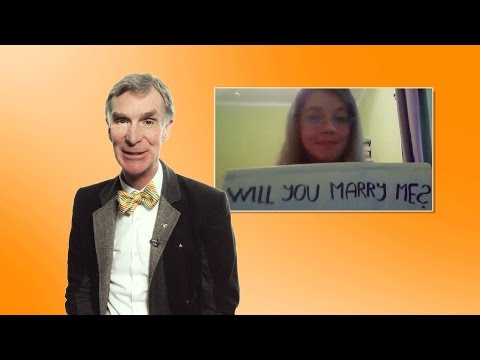 'Hey Bill Nye, What's the Best Way to Handle Overpopulation?' #TuesdaysWithBill